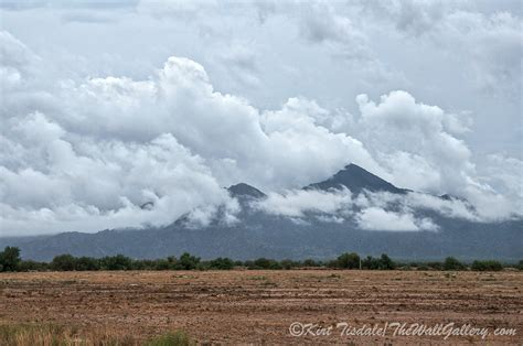Storm Clouds Over The Estrella Mountains  Excerpts From A