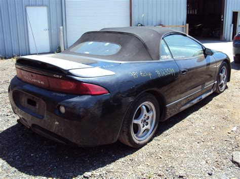 1998 Mitsubishi Eclipse Parts by 1998 Mitsubishi Eclipse Convertible Spyder Gs Model 2 4l