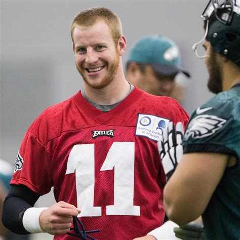carson wentz locked  gas station bathroom rescued