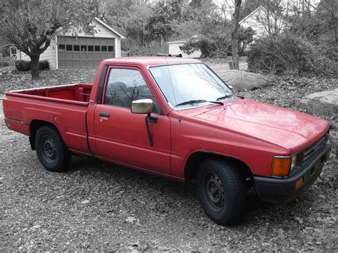 Red Toyota Pickup Truck