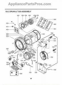 Lg 4986er0004g Door Boot Seal