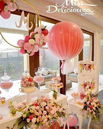 Bridal Shower Decorations Balloon Balloons Party Tulle