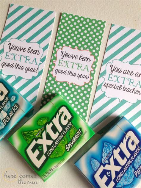 extra good gum stocking stuffers    sun