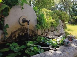 fontaines un coin de reve au jardin elle decoration With decoration exterieur pour jardin 1 idees dinspiration pour un jardin authentique ou