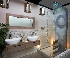 deco salle de bain bambou obasinccom With faience salle de bain zen