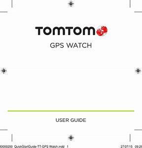 Tomtom 4rem Tomtom Gps Watch User Manual Part1