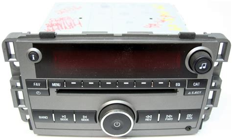 2009 saturn vue factory stereo mp3 cd player radio r 2226