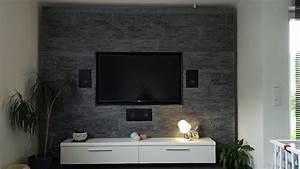 Steinwand Wohnzimmer Tv : hifi heimkino foto part 9 seite 375 ~ Bigdaddyawards.com Haus und Dekorationen