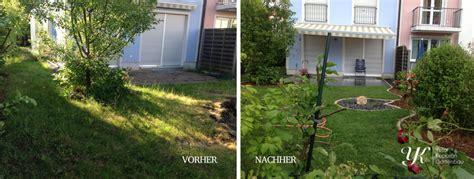 Kleinen Garten Gestalten Vorher Nachher by Garten Vorher Nachher Siddhimind Info