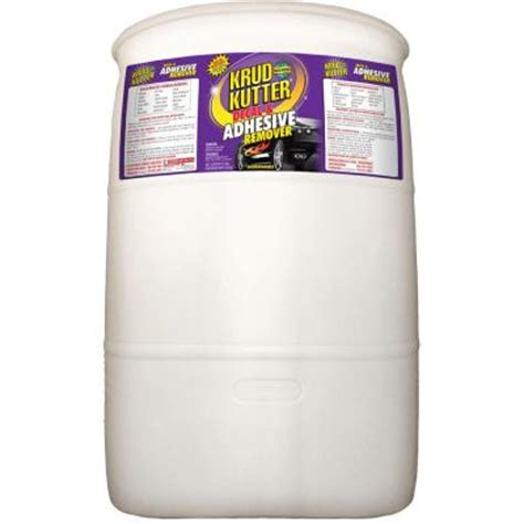 krud kutter 55 gal decal and adhesive remover pu55 the