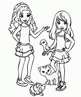 Coloring Pages Friendship Printable Friends Popular sketch template