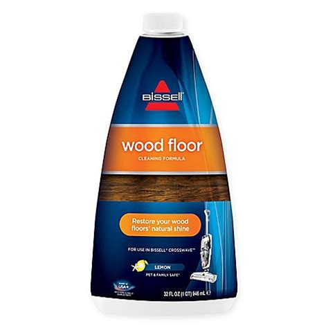bissell wood floor cleaner buy bissell 174 32 oz wood floor cleaning formula from bed bath beyond