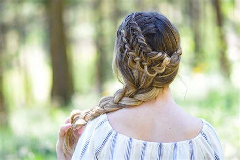 side hair braid styles side braid hairstyles 5627