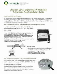 Accendo Glogreen Digital Hid  Dhid  Lighting Ballast