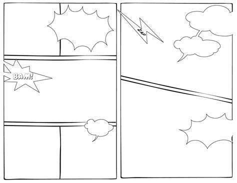 comics drawings template the blank is a fictional character that appears in comic