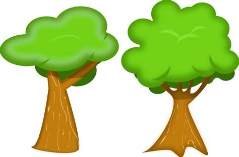 Cartoon Tree Vector Set Vector Art & Graphics