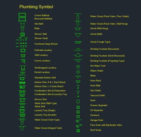Plumbing Symbol     Free CAD Block Symbols And CAD Drawing