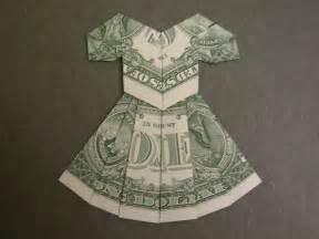 Dollar Bill Origami Dress Instructions