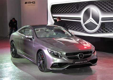 The reduced weight improves driving dynamics and cuts fuel consumption. First Look: 2015 Mercedes-Benz S63 AMG 4Matic Coupe   TheDetroitBureau.com