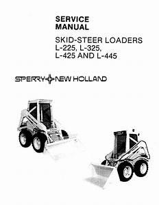 New Holland L225  L325  L425  L445 Skid Steer Loader