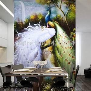 Popular Peacock Wall Mural