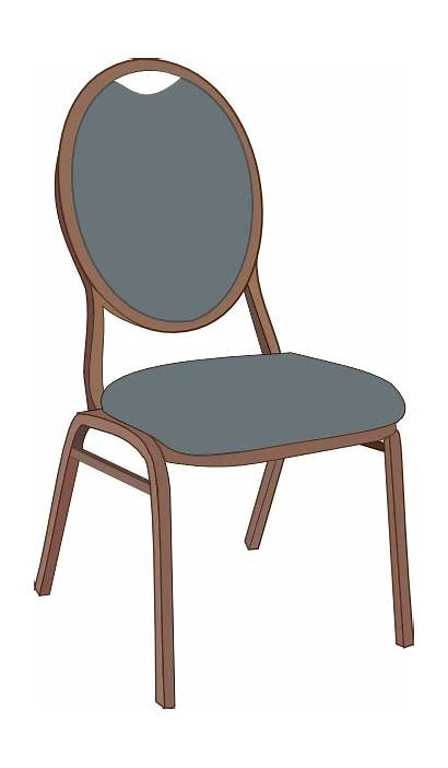 Chair Clipart Dining Clip Table Vector Cliparts