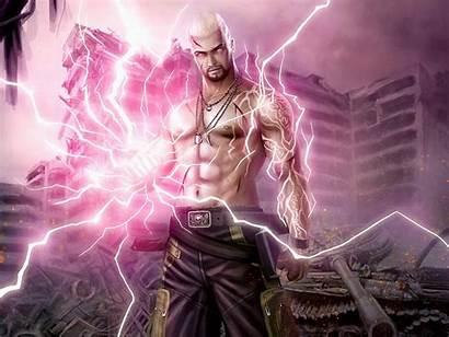 Sorcerer Lightning Wizard Mage Fantasy Magic Magician