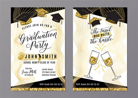 10gb trial card credit usenet no free required farm. Graduation Party Class Of 2018 Vertical Invitation Card Stock Illustration - Download Image Now ...