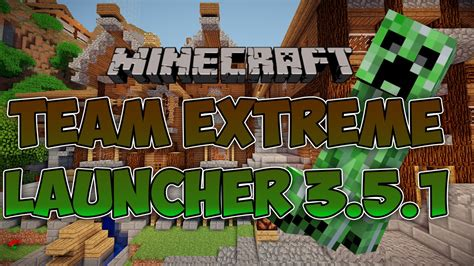 Minecraft Team Extreme Launcher 351 16 Mb Youtube