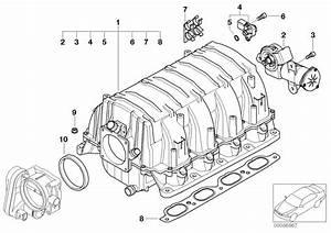 Bmw 645ci Differential Pressure Sensor  Engine  Manifold