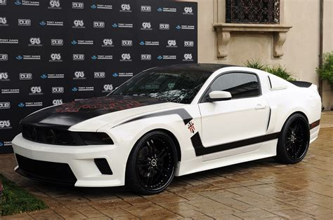 custom 2011 mustang auctioned off to benefit the tony hawk