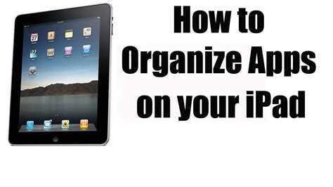 how to organize apps on your