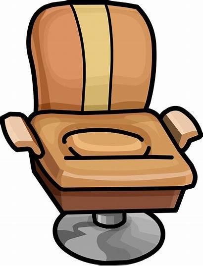 Chair Salon Clipart Penguin Furniture Icon Wiki