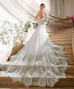 wedding dress trains guide style length types for With wedding dress train types