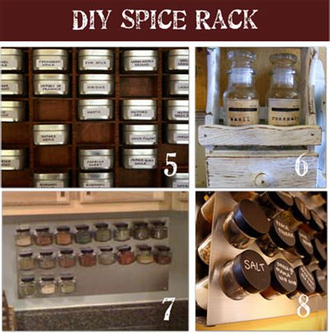 Cool Spice Rack Ideas by 16 Diy Spice Rack Designs Tip Junkie