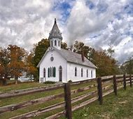 Old Country Churches Paintings