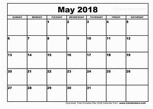 Google doc calendar template 2018 luxury may 2018 word for Google docs academic calendar template