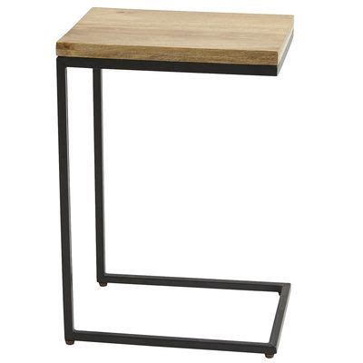 end tables that slide under couch takat c table 100 quot tuck the foot under a sofa or chair