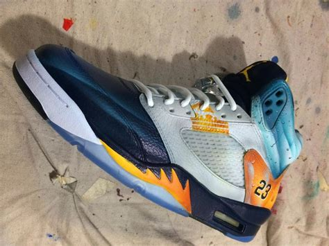 air jordan  corona sneakers  mache customs