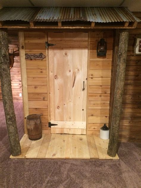 indoor outhouse bathroom   home outhouse