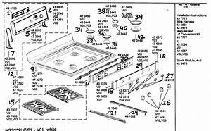 Bosch Freestanding Gas Range Parts