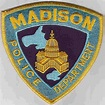 Madison Wisconsin, WI, Police Patch Insignia
