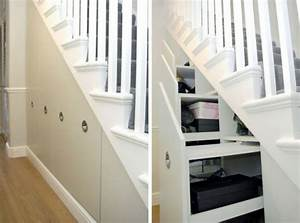 Treppe Mit Schubladen : sch ne praktische lagerraum ideen unter der treppe ~ Michelbontemps.com Haus und Dekorationen