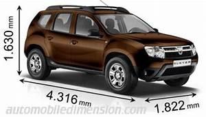 Dimension Coffre Duster : dimensions des voitures dacia longueur x largeur x hauteur ~ Medecine-chirurgie-esthetiques.com Avis de Voitures