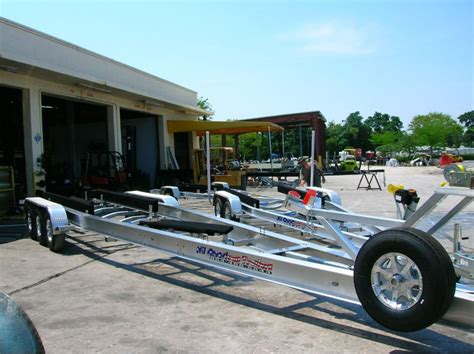 Custom Jon Boat Trailer by All American Custom Aluminum Boat Trailers