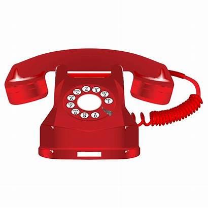 Telephone Clipart Ringing Phone Healthcare Call Retro
