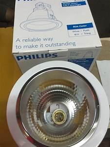 Jual Lampu Downlight Philips Fbs 115 - 5 Inch Putih