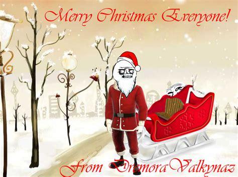 Merry Christmas Everyone By Dremoravalkynaz On Deviantart