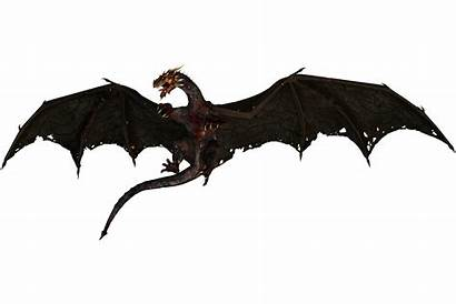 Dragon Flying Thrones Transparent Silhouette Pluspng Clipart