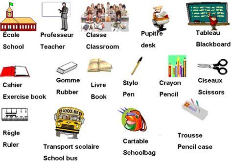 le vocabulaire de la classe anglais le de la classe cm1 cm2 de l 233 cole notre dame de